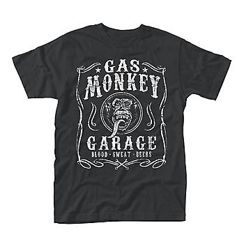 Gaz, Garage singe Flourish T-Shirt