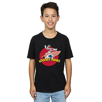 Looney Tunes Boys Bugs Bunny Surfing T-Shirt