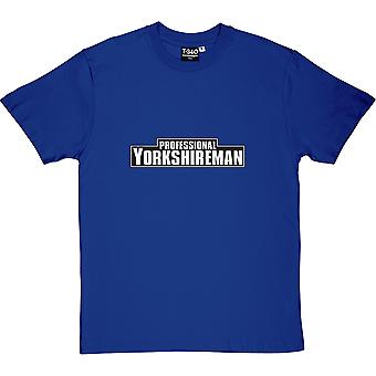 Professional Yorkshireman Royal Blue Men's T-Shirt