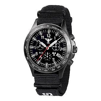 השעון השחור של שעונים מחלקה שחור טיטאן הכרונוגרף-סיקים. . אני מבין. NXT7
