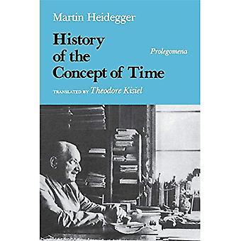 Eine Geschichte des Begriffs der Zeit: Prolegomena (Midland Buch)