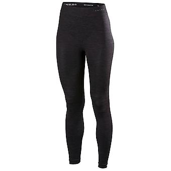 Falke Wool Tech Long Tights - Black