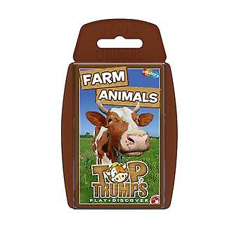 Farm Animals Top Trumps carta gioco