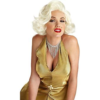 Classic Blonde Wig For Merilyn Monroe Costume