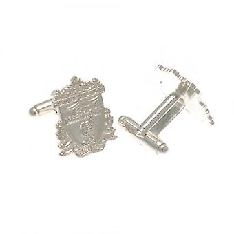 Liverpool Silver Plated Formed Cufflinks