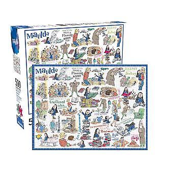 Roald Dahl Matilda 500 piece jigsaw puzzle (nm)