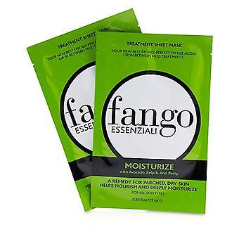 Fango Essenziali Moisturize Treatment Sheet Masks - 4x25ml/0.83oz