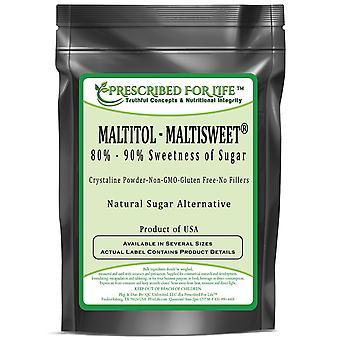 Maltitol Powder-adoçante alternativo natural de baixa caloria-80%-90% doçura de açúcar-produto dos EUA
