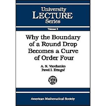 Why the Boundary of a Round Drop Becomes a Curve of Order Four by Ale