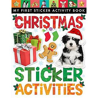 Christmas Sticker Activities by Tiger Tales - 9781589253070 Book