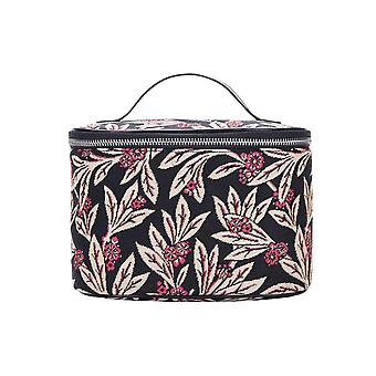 Golden fern makeup bag by signare tapestry / toil-gfern