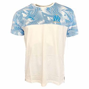 2019-2020 Olympique Marseille Puma Casuals performance Tee (wit)