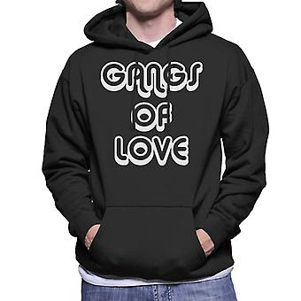 Gangs Of Love Men's Hooded Sweatshirt