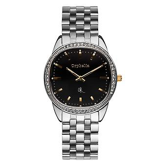 ORPHELIA Ladies Analogue Watch The Ego Silver Stainless steel 153-2700-48
