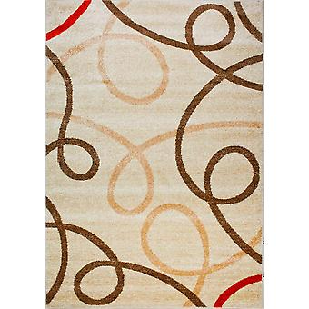 Design carpet of the highest quality Ivory/Beige
