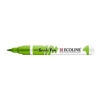 Talens Ecoline Liquid Watercolour Brush Pen - 665 Spring Green