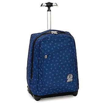 Trolley Invicta Triangle - Blue - 35 Lt - 2in1 Shoulder Lift Backpack for Trolley Use - School & Travel