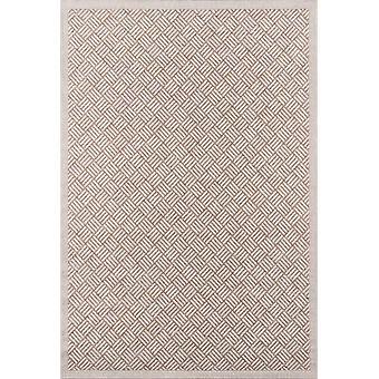 Como machine made tan 2' x 10' runner runner rug  by momeni