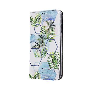 Smart Trendy Wallet case, Samsung A70, Tropical