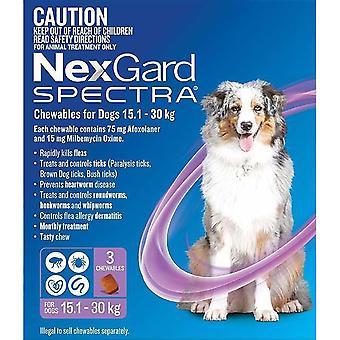 Nexgard أطياف كبيرة 15 - 30 كجم (33 - 66 رطل) - 3 حزمة
