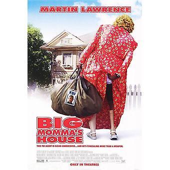 Affiche de cinéma original de la maison Big Momma-apos;s House
