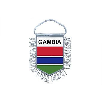 Flag Mini Flag Country Car Decoration Gambian Gambian