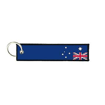 Port Cles Key Cle Homme Homme Fabric Brode Prints Australian Flag