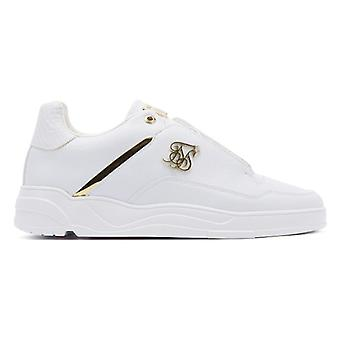 SikSilk Blaze Lux Mens White / Gold Trainers