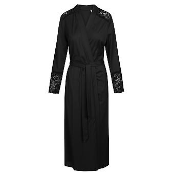 Rösch 1193599-10995 Dámské apos;s New Romance Black Cotton Robe