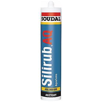 Soudal Silirub AQ Sealant 310ml - Clear