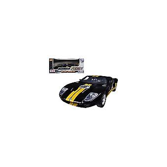 MotorMax Motor Max Ford GT Concept - Black & Yellow  1:24