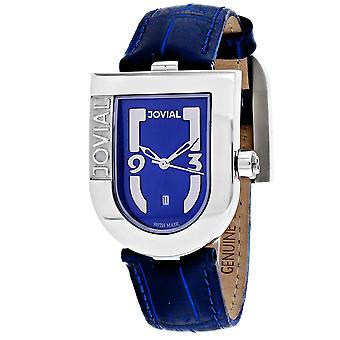 Jovial Women's Classic Blue Dial Watch - 06406-MSL-03