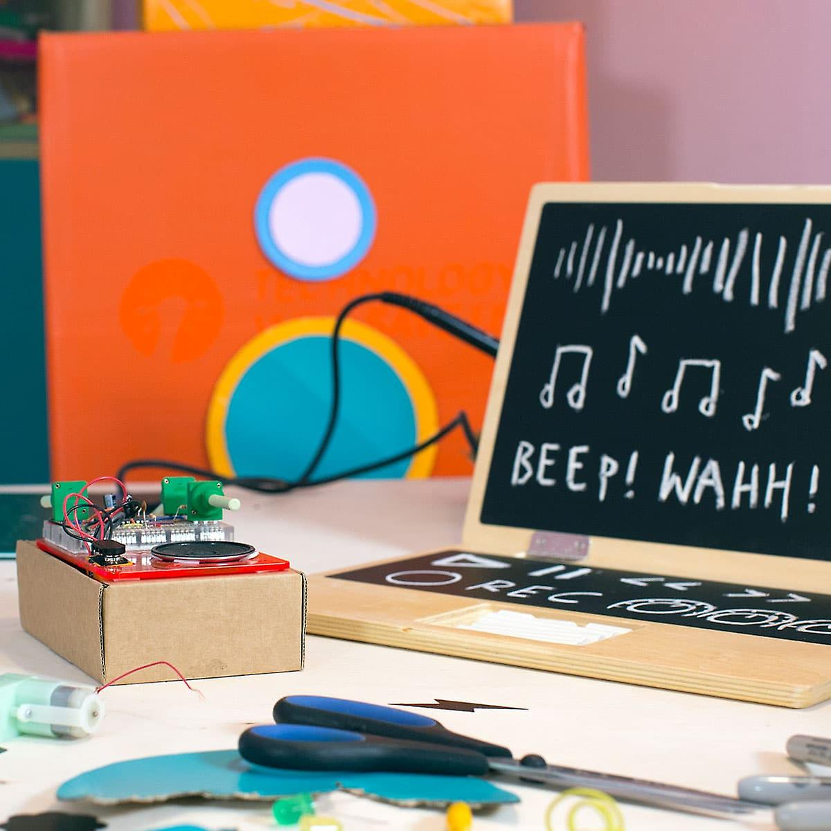 Tech Will Save Us Synth Kit | Educational Music Kit, Ages 13 and up