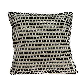 Moderne firkantede nuancer af grå accent pude cover