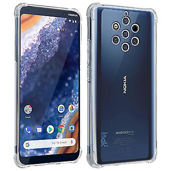 Nokia 9 PureView Silicone Case and Transparent Shockproof Flexible Film Imak