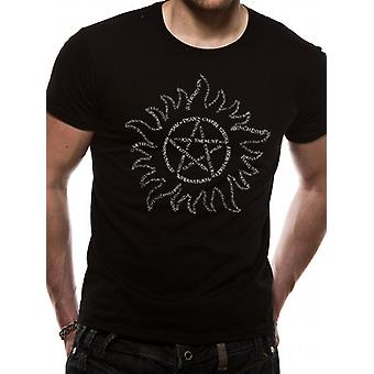 Supernatural-Text Symbol T-Shirt