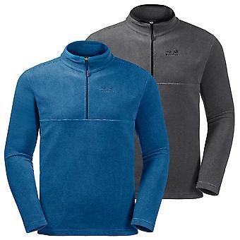 Jack Wolfskin Mens Arco 1/2 Zip Isolerad Lätt Fleece Pullover