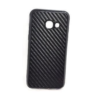 Samsung Galaxy A3 (2017) - Beeyo Carbon Shell - Musta