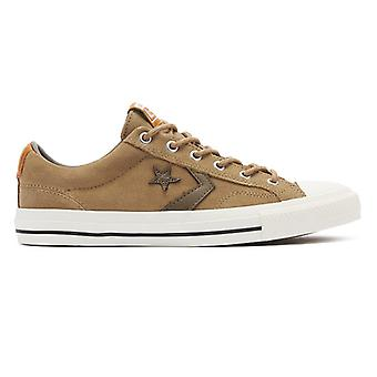 Converse Star Player Mens Brown / White Ox Trainers