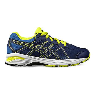 Asics Boys Gt Schuhe Trainer Laufen Jogging Sport Lace Up Sneakers Schuhe