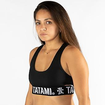 Tatami Fightwear Black Minimal Sports Bra - Black