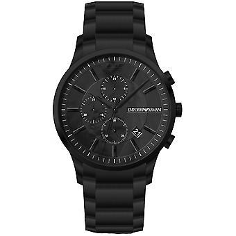 Emporio Armani Reloj AR11275 - Multifunción Sartblack Steel