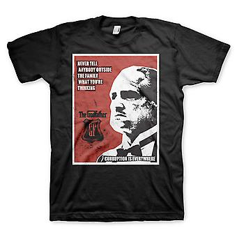 The Godfather Don Vito Corleone Corruption Official T-Shirt