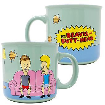 Beavis and Butthead 20 Ounce Ceramic Mug