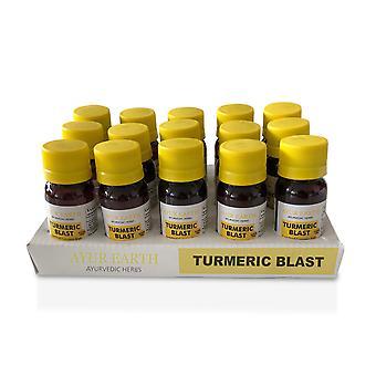 Ayurveda Herbal Shots  Pure,Natural Turmeric Curcumin Superfood Blast