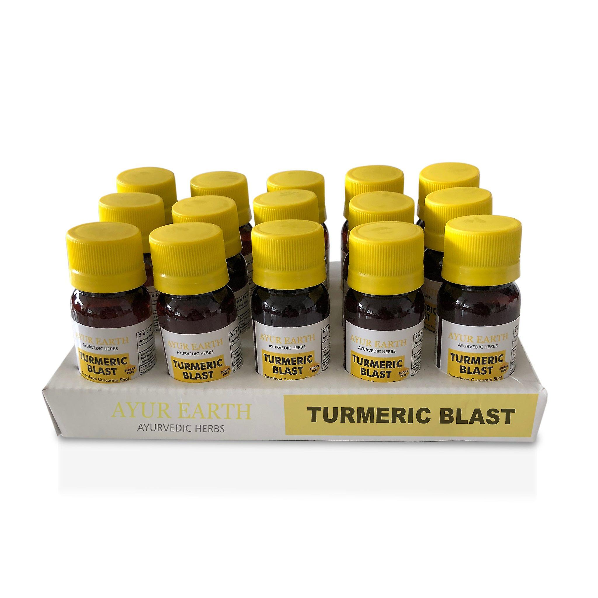Ayurveda Herbal Shots  Pure,Natural Turmeric Curcumin Superfood Blast