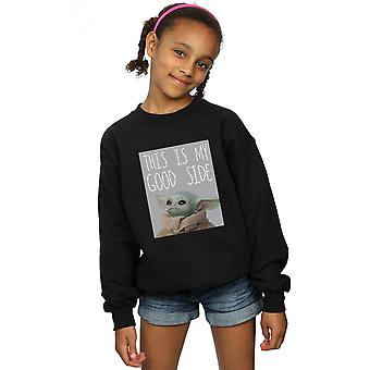 Star Wars Girls The Mandalorian The Child Good Side Sweatshirt