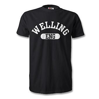 ウェリングのイギリス市 t シャツ
