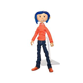 "Coraline 7"" in Striped Shirt & Jeans Action Figure"