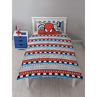 Spider-Man Ultimate Hang Reversible singolo Duvet e set di federa